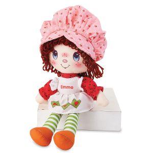 Personalized Classic Strawberry Shortcake Doll