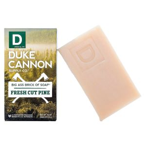 Duke Cannon Pine Scented Brick of Soap