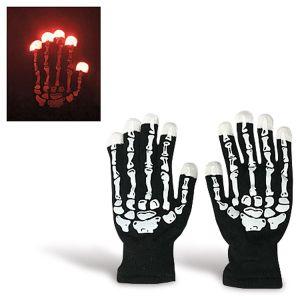 Light Up Skeleton Gloves