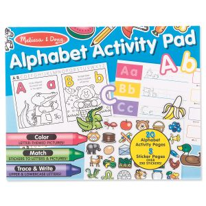Melissa & Doug® Alphabet Activity Pad