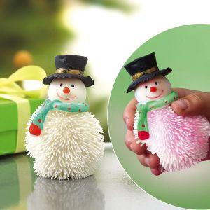 LED Puffer Snowman