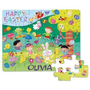 Personalized Easter Puzzle