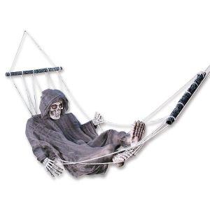 Grim Reaper in Hammock