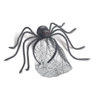 Spider Headband with Veil
