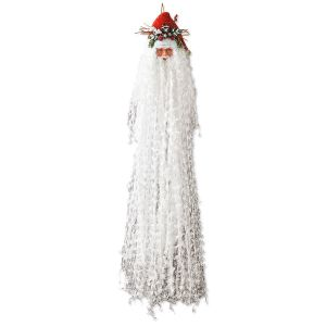 Glitter-Bearded Santa