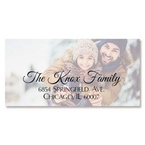Personalized Full Photo Border Address Label