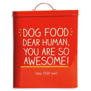 Dear Human Dog Food Tin by Wild & Wolf