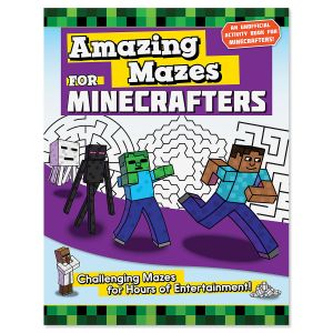 Amazing Mazes for Minecrafters Book