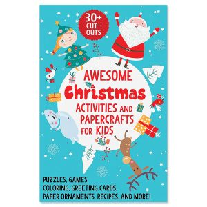 Awesome Christmas Activities & Papercrafts for Kids Book