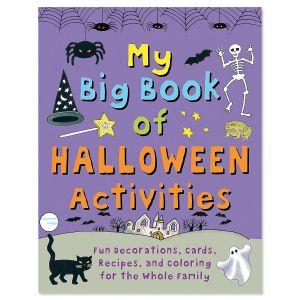 My Big Halloween Activates Book