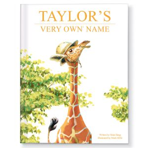 Personalized My Very Own Name Giraffe Storybook