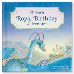 My Royal Birthday Dragon Adventure Children's Book