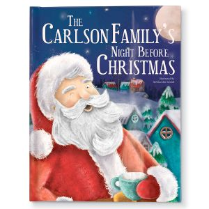 Personalized-Our Family's Night Before Christmas Storybook