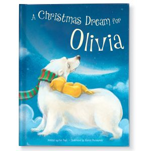 Personalized A Christmas Dream For Me Storybook