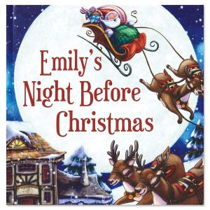 My Night Before Christmas Personalized Storybook