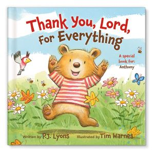 Personalized Thank You Lord Storybook