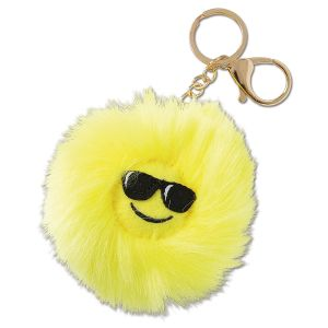 Sunglasses Emojicon Keychain