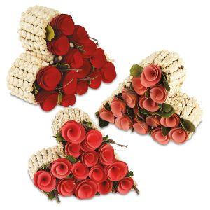 Rosebud Keepsake Heart