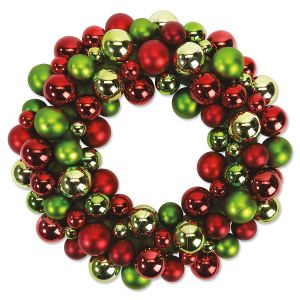 Bright Ornament Wreath