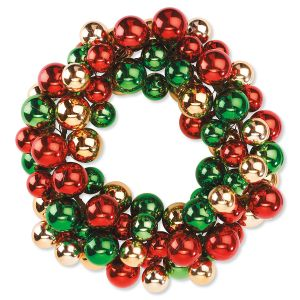Christmas Baubles Wreath