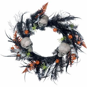 Skull & Spider Wreath
