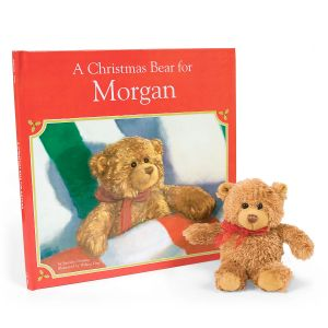 Personalized A Christmas Bear For Me Storybook