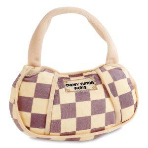 Checkered Chewy Vuiton Handbag