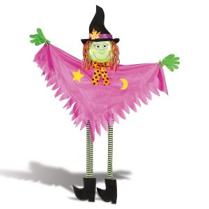 Poseable Hanging Halloween Witch
