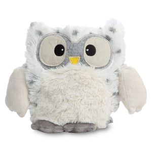Snowy Owl Hooty Heatable