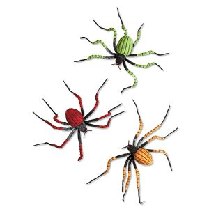 Small Posable Spiders