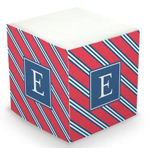Repp Tie Sticky Memo Cube