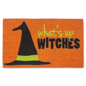 What's Up Witches Coco Doormat