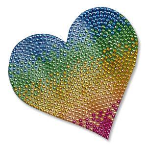 Rainbow Heart StickerBean™