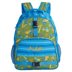 Construction Personalized Backpack by Stephen Joseph®