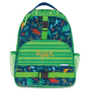 Green Dino Personalized Backpack by Stephen Joseph®