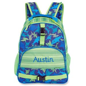 Shark Personalized Backpack by Stephen Joseph®