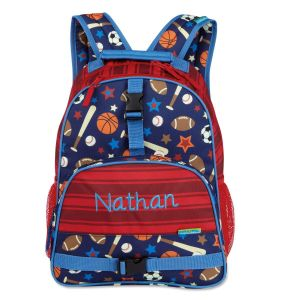 Sports Personalized Backpack by Stephen Joseph®