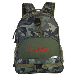 Personalized Camo Backpack by Stephen Joseph®