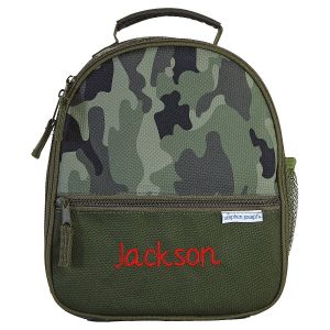Personalized Camo Lunch Tote by Stephen Joseph®