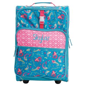 "All-Over Mermaid Print 22"" Rolling Travel Luggage by Stephen Joseph®"