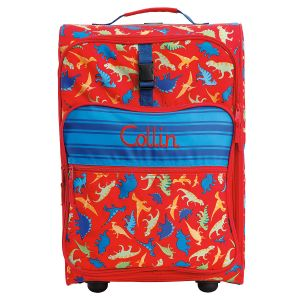 "All-Over Dino Print 22"" Rolling Travel Luggage by Stephen Joseph®"