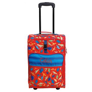 """All-Over Dino Print 22"""" Rolling Travel Luggage by Stephen Joseph®"""