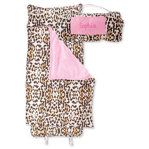 Personalized All-Over Leopard Print Nap Mat by Stephen Joseph®