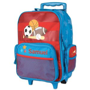 "Sports 18"" Rolling Luggage by Stephen Joseph®"