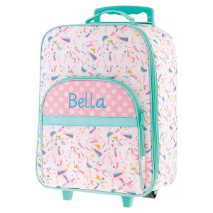 "All-Over Unicorn 18"" Rolling Luggage by Stephen Joseph®"