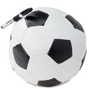 Autograph Soccer Ball Pillow
