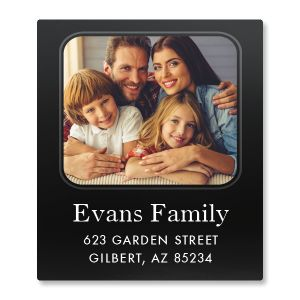 Modern Select Personalized Photo Address Label