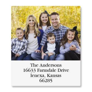 Select Personalized Photo Address Label