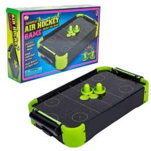 Neon Tabletop Air Hockey Game