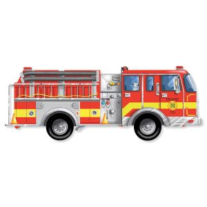 Giant Firetruck Floor Puzzle by Melissa & Doug®